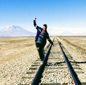 Alvaro Quiñones, Find my way project